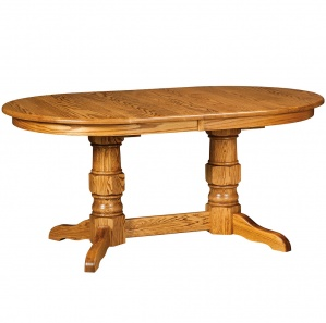 Raleigh Oval Amish Dining Table