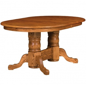 Stafford Double Pedestal Dining Table