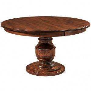 Burlington Pedestal Amish Dining Table