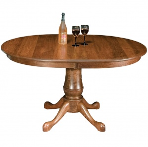 Estate Pedestal Amish Dining Table