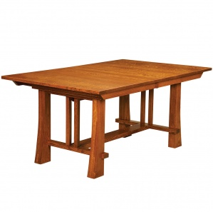 Granger Park Amish Trestle Table