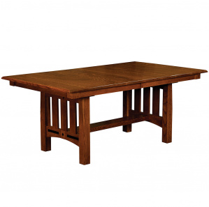 Forest Hills Trestle Amish Dining Table