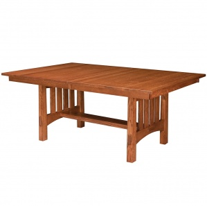 Del Mar Amish Trestle Table
