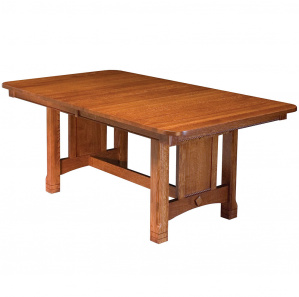 Presidio Trestle Amish Dining Table