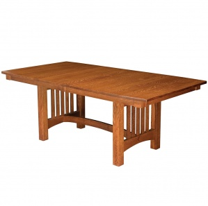 Estes Point Trestle Amish Dining Table
