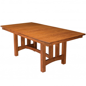 Monroe Trestle Amish Dining Table