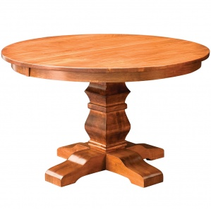 Walden Single Pedestal Amish Dining Table