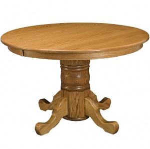 Wheatland Round Amish Pedestal Table