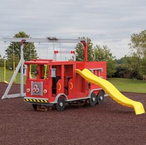 Fire Truck Playset