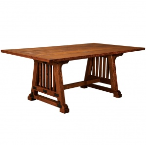 Allegheny Rustic Amish Dining Table