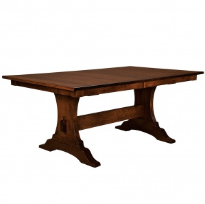 Benjamin Trestle Amish Dining Table