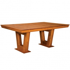 Vega Modern Amish Dining Table