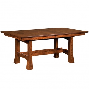 Jackson Trestle Amish Dining Table