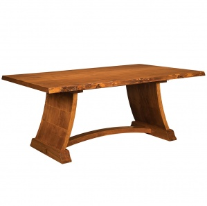 Tahoe Live Edge Amish Dining Table