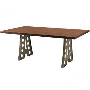 Alpha Industrial Rustic Table