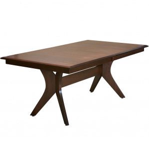 Harper Modern Amish Dining Table