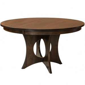 Silverton Round Amish Dining Table