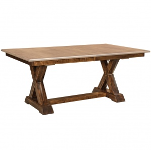 Knoxville Trestle Amish Dining Table