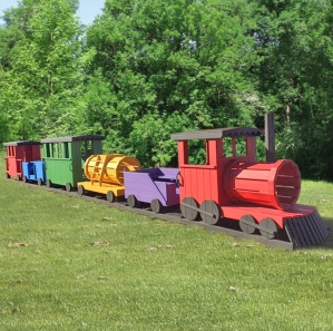 Choo Choo Train Multicolored Playset