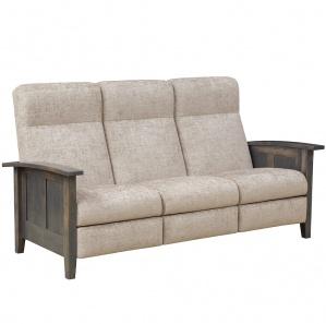Serena Amish Sofa Recliner