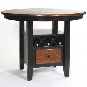 Wine Storage Pub Table