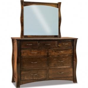 Reno Amish Dresser with Mirror Option