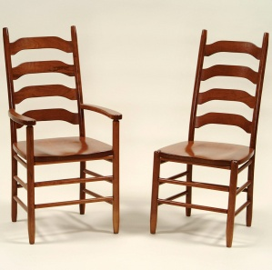 North Union Amish Kitchen Chairs