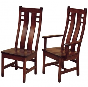 Cascade Amish Dining Chairs