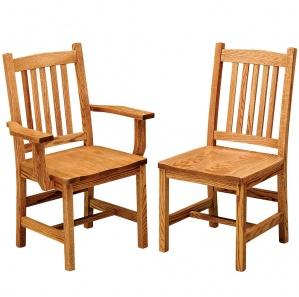 Logan Amish Dining Chairs