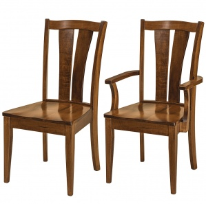 Brawley Amish Dining Chairs