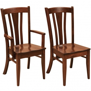 Meridan Amish Dining Chairs