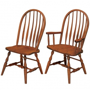 Bent Feather Amish Dining Chairs
