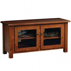 Barn Floor 2 Door Amish TV Stand