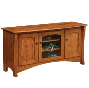Master Style 3 Door Amish TV Stand