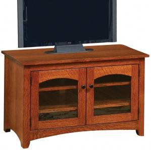 Lago 2 Door Amish TV Stand