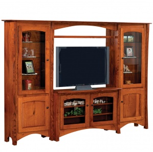 Master Style Amish Entertainment Center