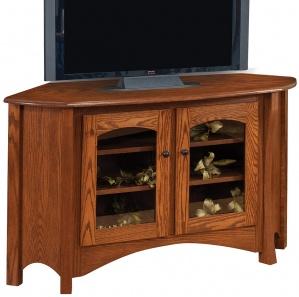 Master Corner Amish TV Stand