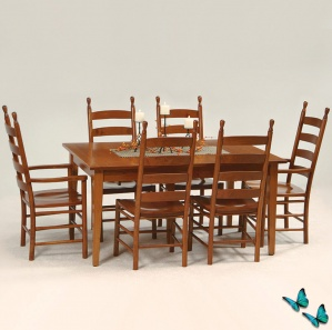 Enfield Amish Kitchen Table Set