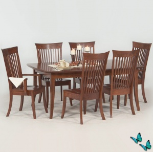 Virginian Amish Dining Room Set