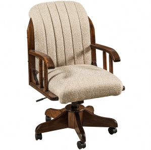 Delray Desk Chair with Kevco Base