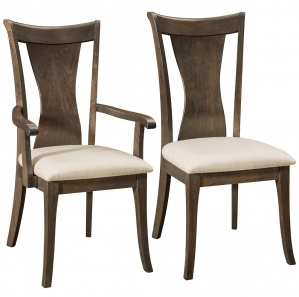 Wellsburg Amish Dining Chairs
