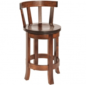 Portland Amish Bar Stool with Meribeth Top