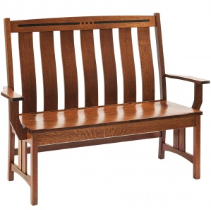 Colebrook Amish Bench