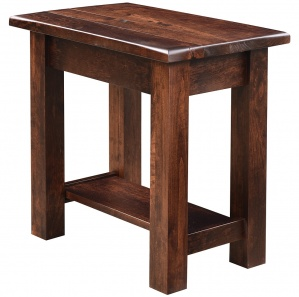 Barn Floor Amish Side Table