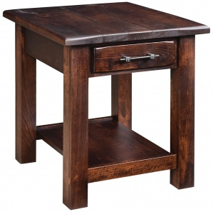Barn Floor Amish End Table