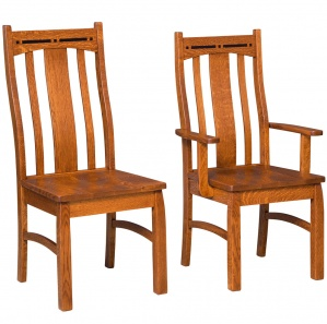 Boulder Creek Amish Dining Chairs
