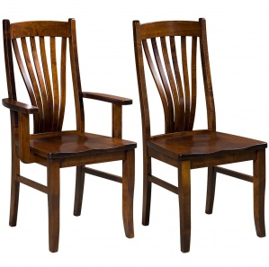 Arista Amish Dining Chairs