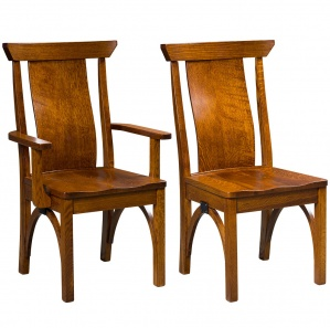 Ellis Amish Dining Chairs