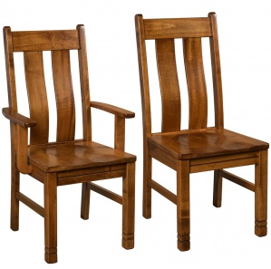 Lyndayle Amish Dining Chairs
