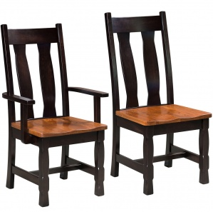Rock Island Amish Dining Chairs